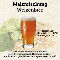 HUBL Malzmischung Weizenbier - 30 Liter