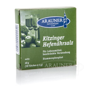 Kitzinger Hefenährsalz Pulver, 10 x 1 g