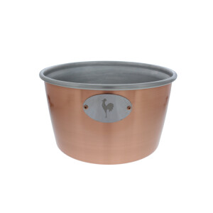 Cooling bucket in copper optik for party kegs