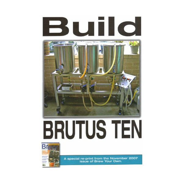 Build BRUTUS TEN - Reprint of November 2007 issue of BY