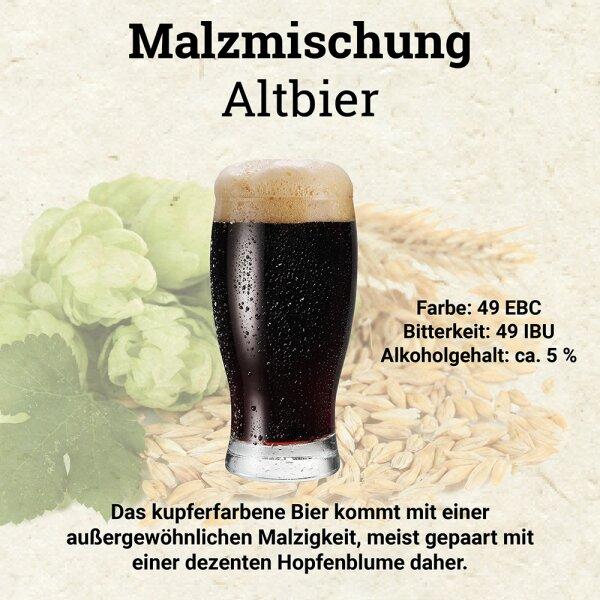 HUBL Malzmischung Altbier - 30 Liter