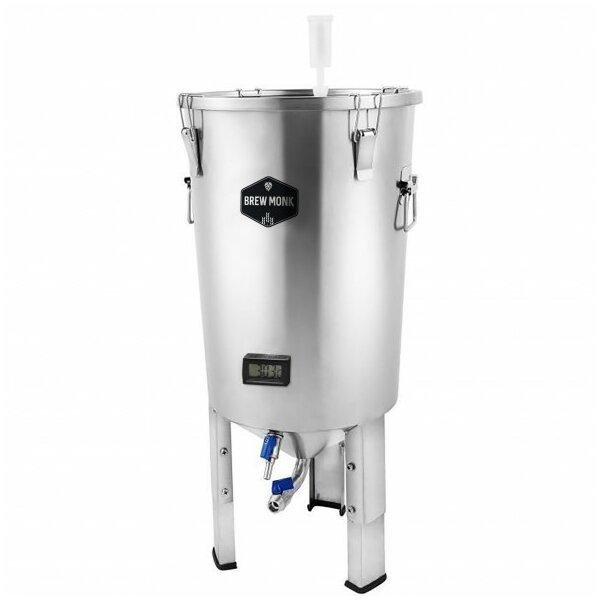 Brew Monk® Edelstahl Gärbehälter 30 Liter