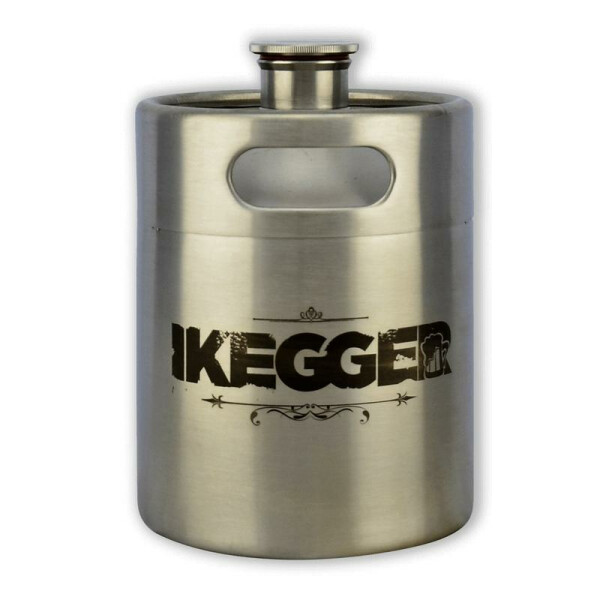 "iKegger 2 Liter Mini KEG - ""The Bieber"""