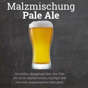 """Malzmischung """"Pale Ale"""" - Geschrotet"""