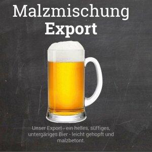 "Malzmischung ""Export"" - Geschrotet"