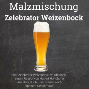 """Malzmischung """"Zelebrator Weizenbock"""" - Geschrotet"""