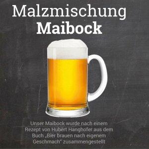 """Malzmischung """"Maibock"""" - Geschrotet"""