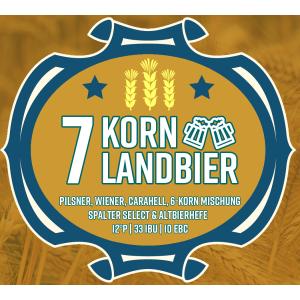 Malzmischung 7-Korn Landbier