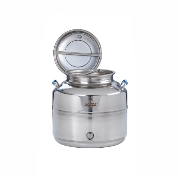 Stainless steel can 25 litre