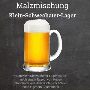 """Malzmischung """"Klein-Schwechater-Lager"""" Geschrotet"""