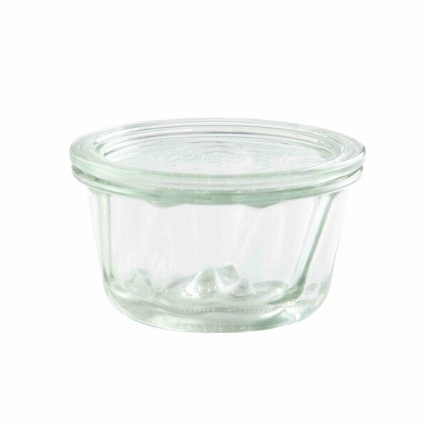 WECK® Gugelhupfglas 80 ml (Rundrand 60) 12 Gläser / Karton