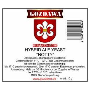 GOZDAWA Hybrid Ale Yeast Notty (HAY) - top fermenting dry...