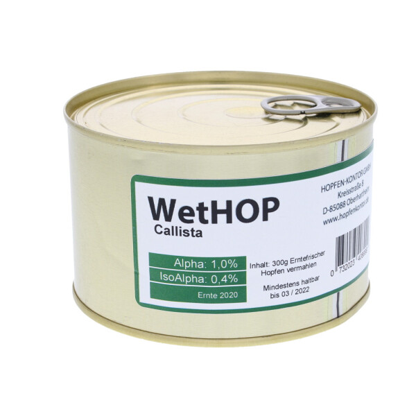 WetHop - Callista hop in a can 300 g