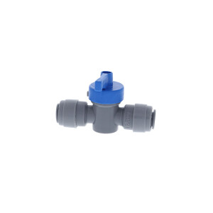 Duotight connector with ball valve 8 mm (5/16)