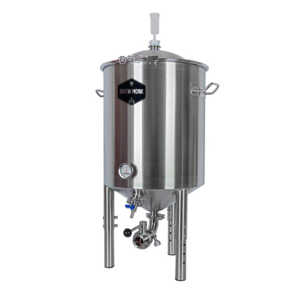 Brew Monk stainless steel fermentation tank 55 liters