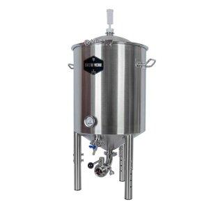 Brew Monk® Edelstahl Gärbehälter 55 Liter