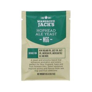 Mangrove Jacks M66 - Hophead Ale Yeast - 10 g