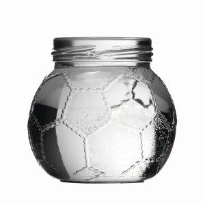 Fußball Schraubglas 212 ml
