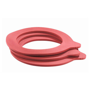 Replacement rubber for wire clip glass 68 x 94 mm (10...