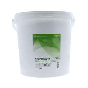 Enzymatic detergent for home brewery equipment