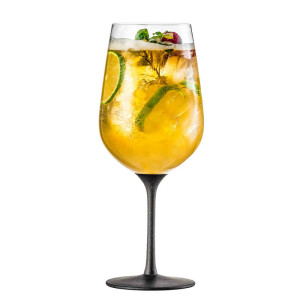 Beer cocktail glass 655 ml Secco Flavoured black - 2...