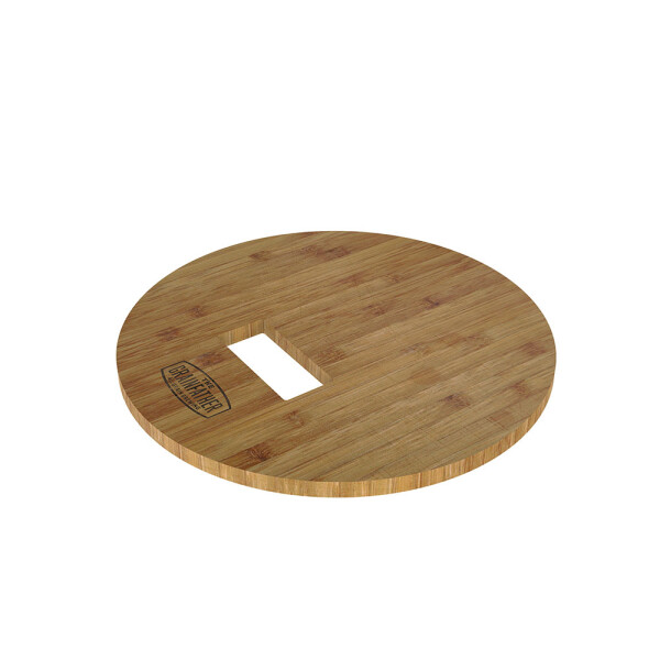 Grainfather bamboo base plate for malt mill